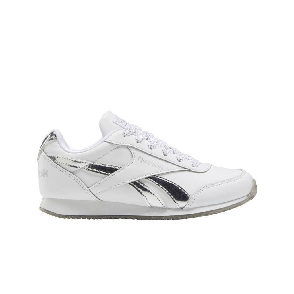 Reebok Classics Royal Classic Jogger 2 sneakers wit/zilver, Wit/zilver