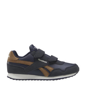 Royal CLJog  sneakers donkerblauw/lichtbruin