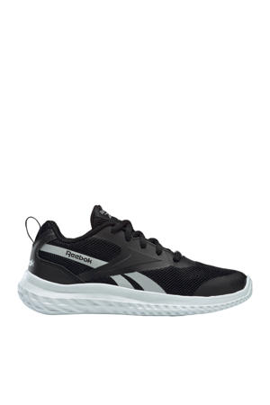 Rush Runner 3 hardloopschoenen zwart/wit/zilver kids