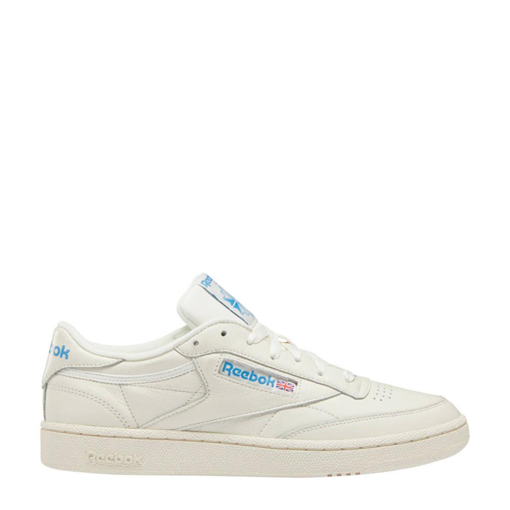 Reebok Classics Club C 85 sneakers ecru/blauw, Ecru/blauw