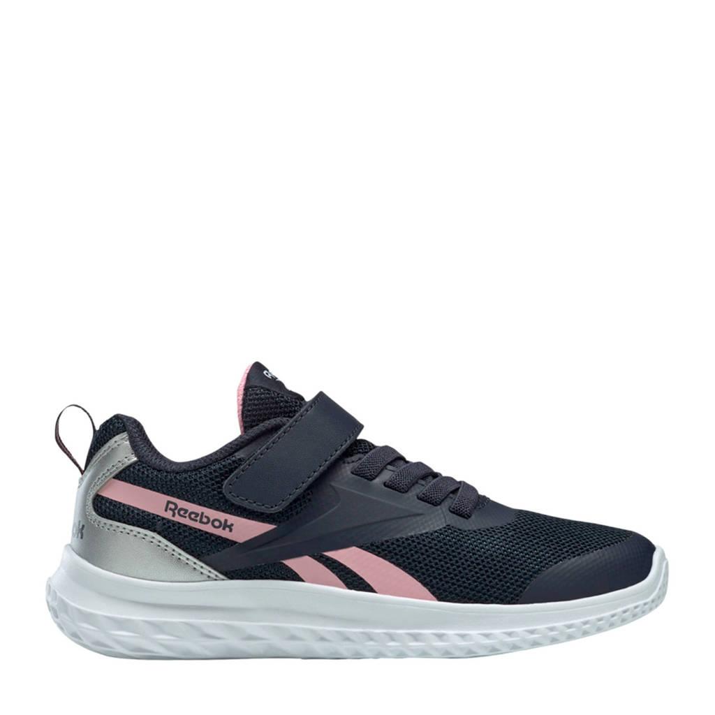 Reebok Training Rush Runner  sneakers donkerblauw/roze/zilver, Donkerblauw/roze/zilver