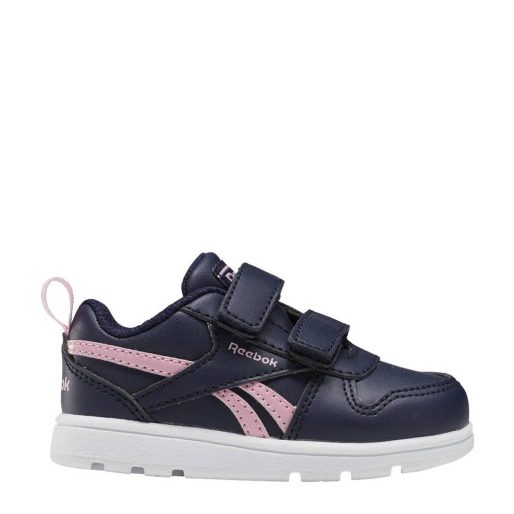 Reebok Classics Royal Prime 2 sneakers donkerblauw/roze/wit, Donkerblauw/roze/wit
