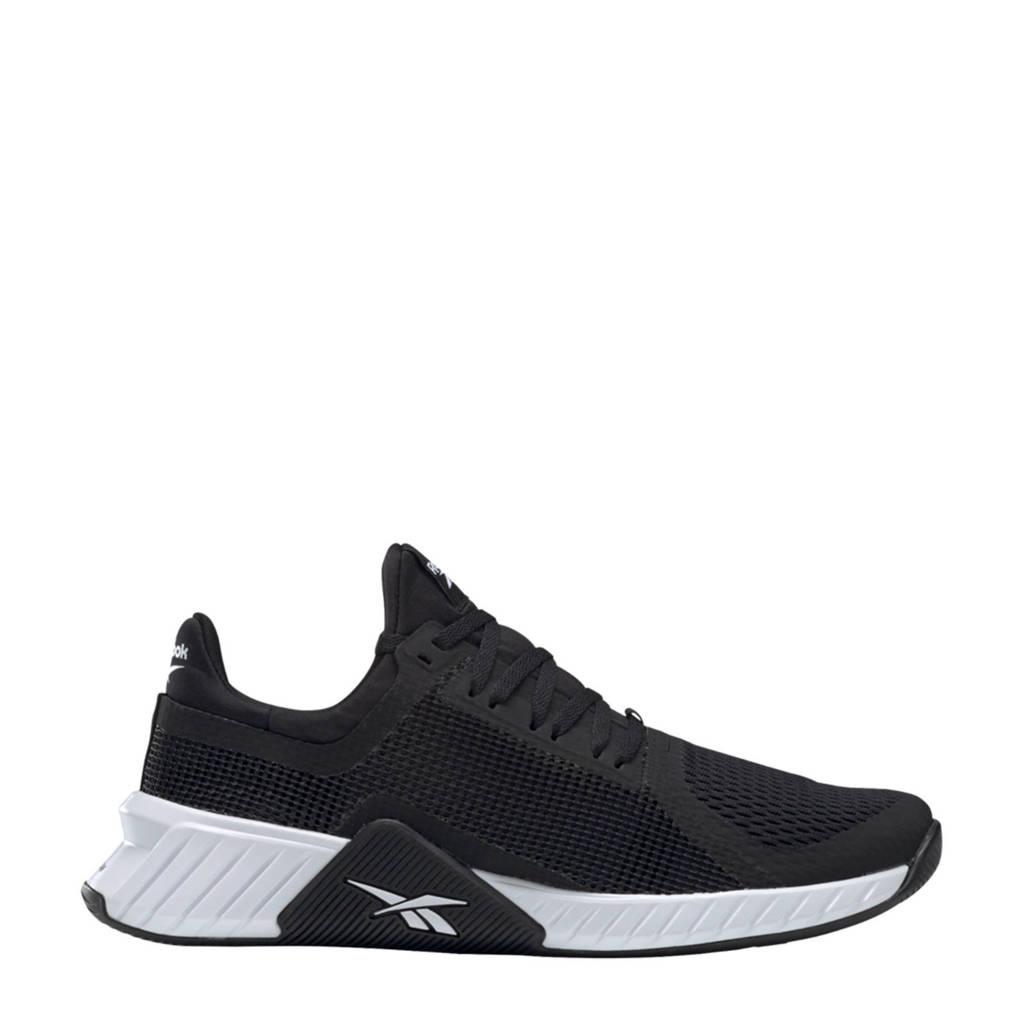 Reebok Training Flashfilm Trainer  sportschoenen zwart/wit, Zwart/wit