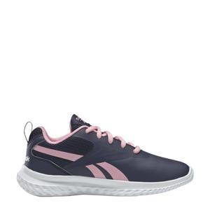 Rush Runner 3 hardloopschoenen donkerblauw/roze/wit meisjes