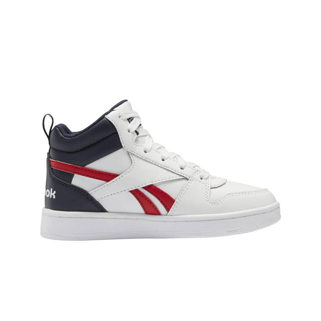Reebok Classics Royal Prime  Mid 2 sneakers wit/donkerblauw/rood, Wit/donkerblauw/rood