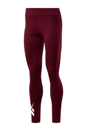 legging bordeauxrood