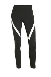 Reebok Training sportbroek zwart/wit, Zwart/wit