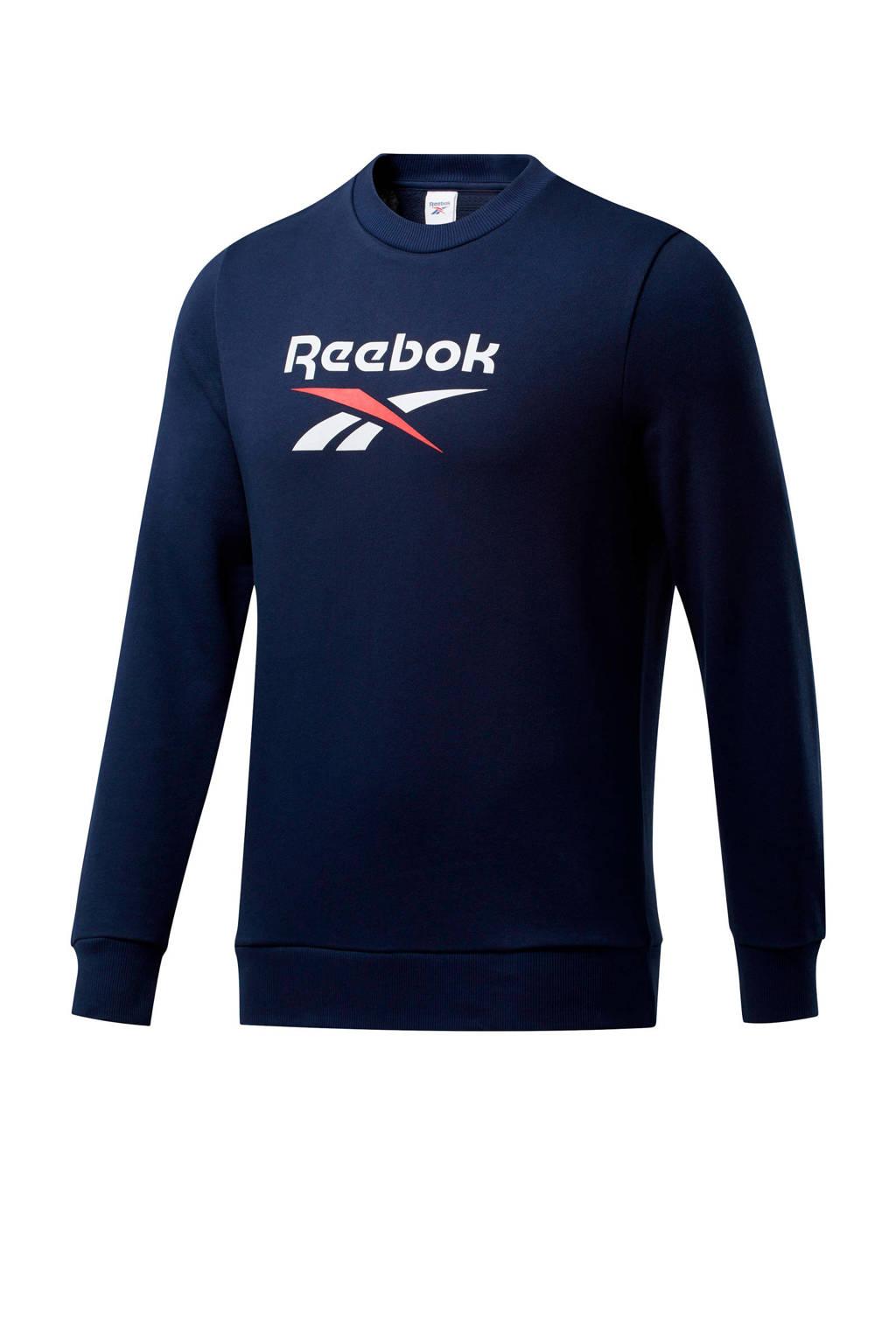 Reebok Classics sweater donkerblauw, Donkerblauw