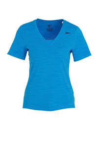 Reebok Training sport T-shirt blauw, Blauw