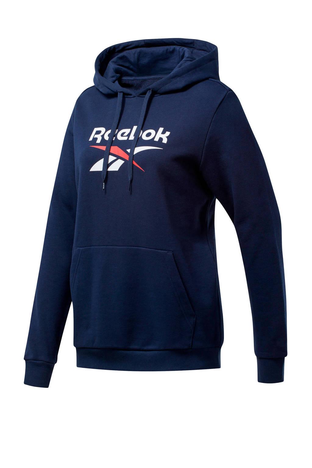 Reebok Classics hoodie donkerblauw, Donkerblauw