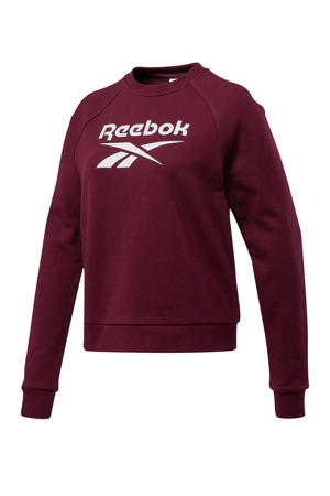 sweater bordeauxrood