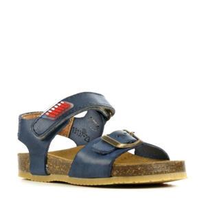 19137  leren sandalen blauw