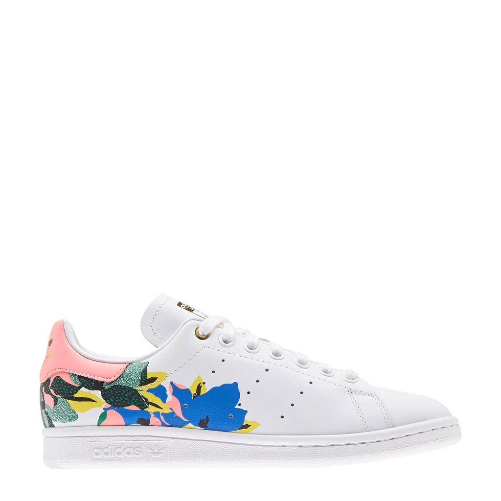 adidas Originals Stan Smith W sneakers wit/roze/goud, Wit/roze/goud