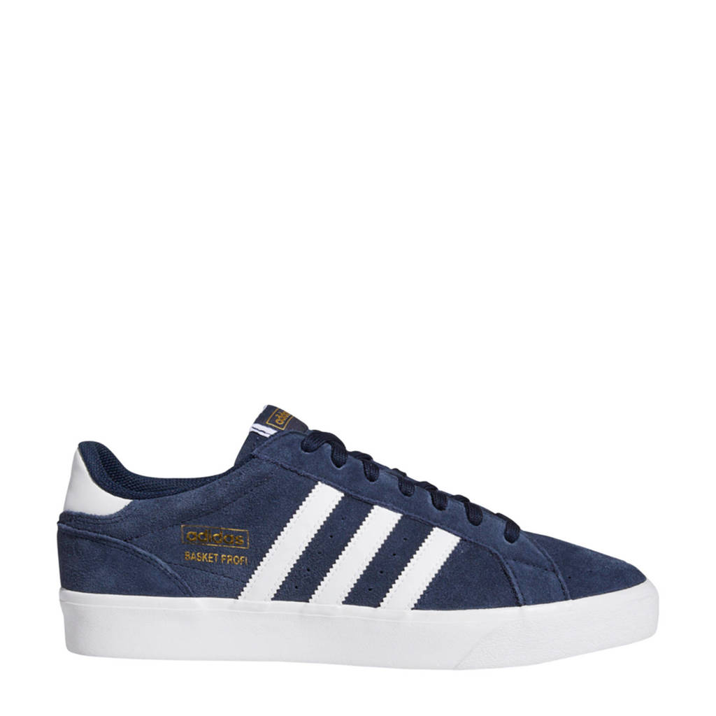 adidas Originals Basket Profi Lo sneakers donkerblauw/wit, Donkerblauw/wit