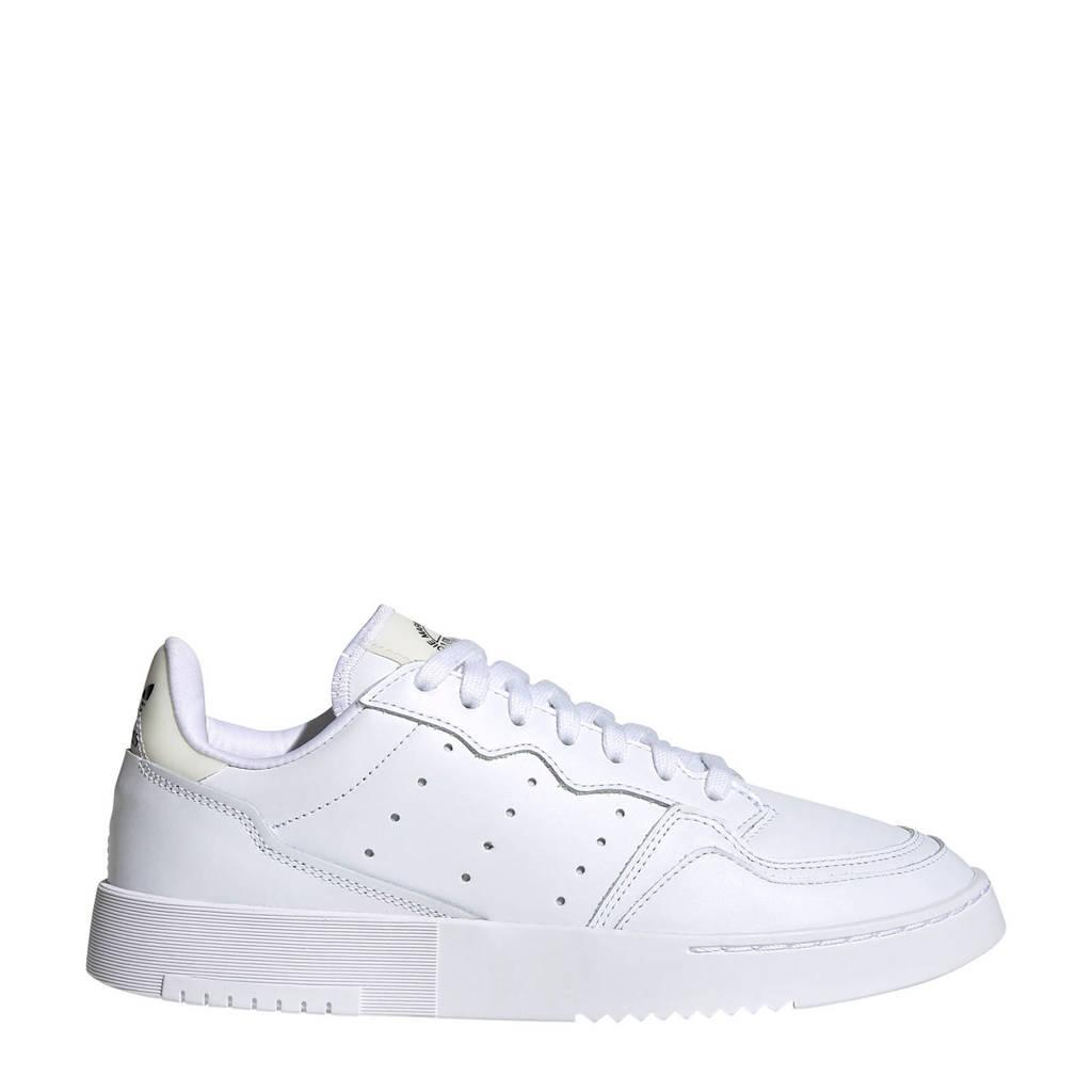 adidas Originals Supercourt  leren sneakers wit/zwart, Wit/zwart