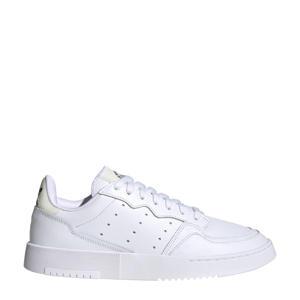 Supercourt  leren sneakers wit/zwart