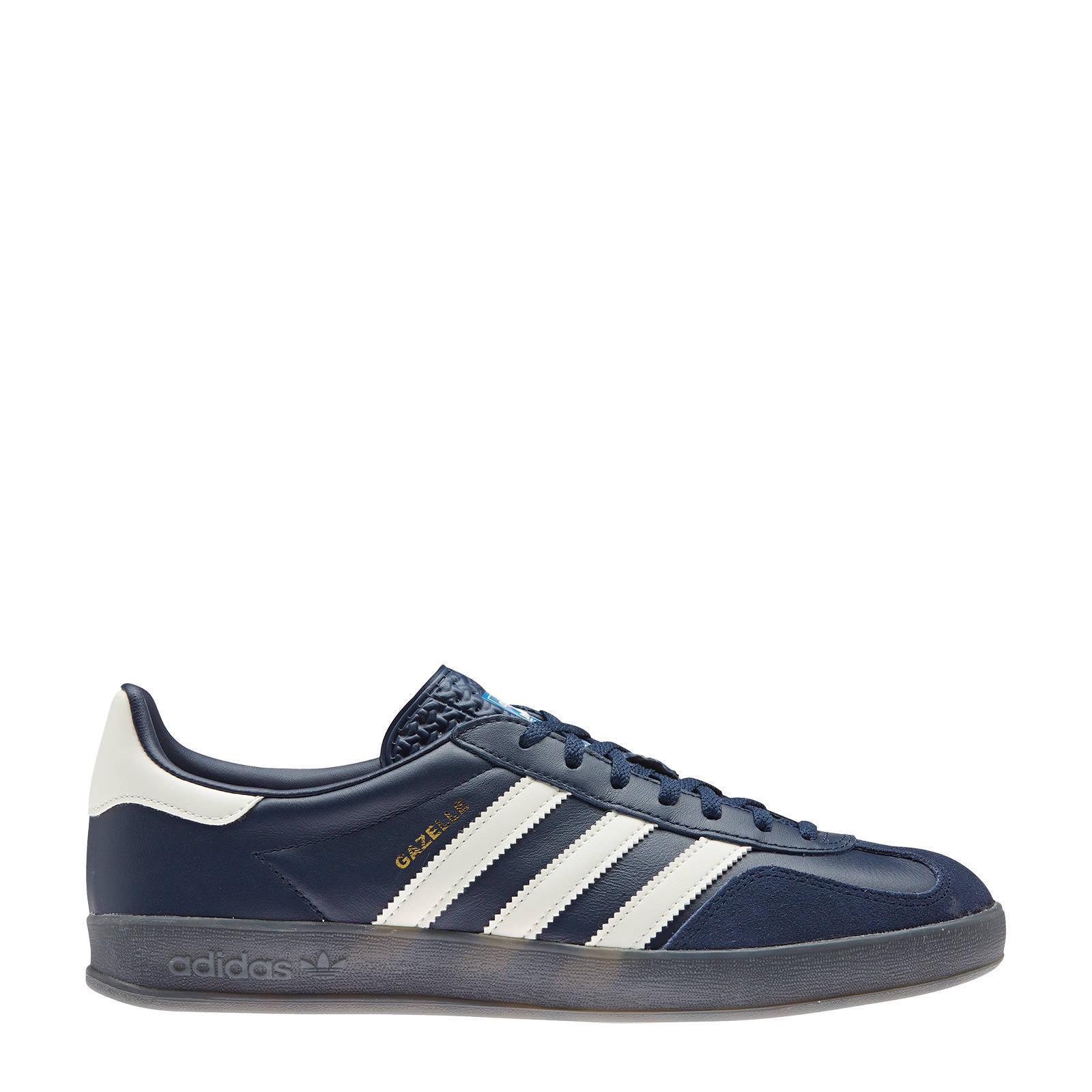 adidas Originals Gazelle Indoor sneakers donkerblauwwit