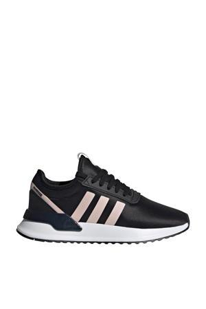 U_PATH X  sneakers zwart/lichroze