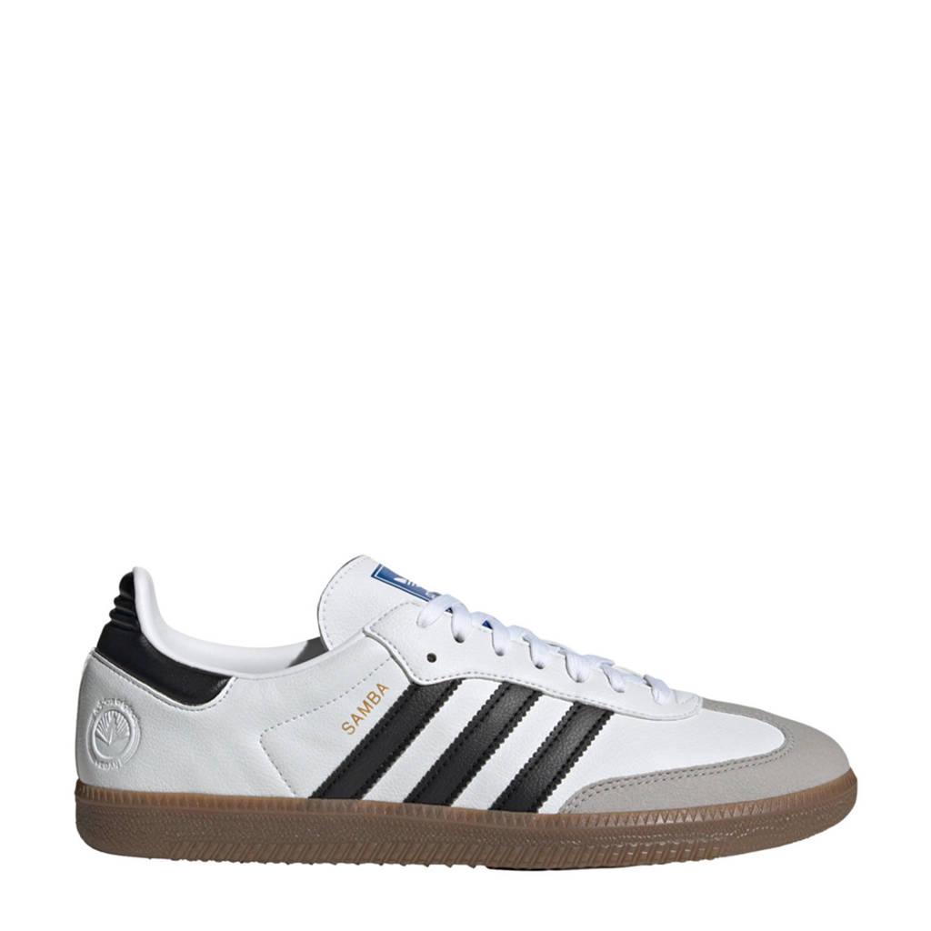 adidas Originals Samba Vegan sneakers wit/zwart, Wit/zwart