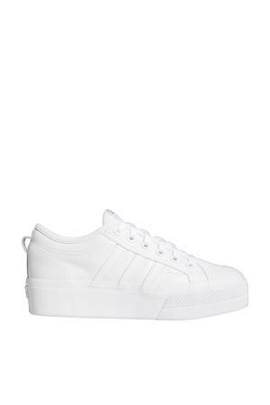 Nizza Platform sneakers wit/zwart