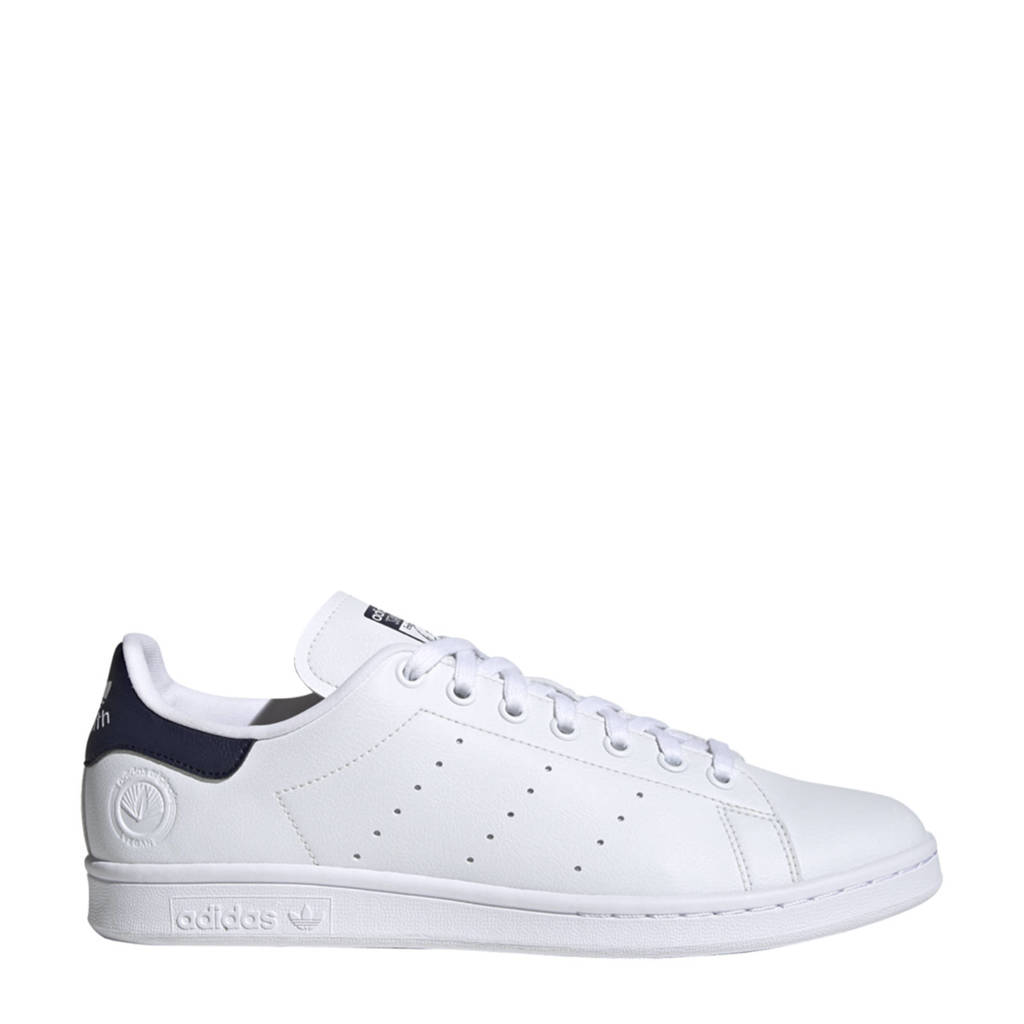 adidas Originals Stan Smith Vegan sneakers wit/donkerblauw/groen, Wit/donkerblauw/groen