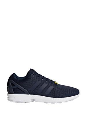 ZX Flux  sneakers donkerblauw/wit