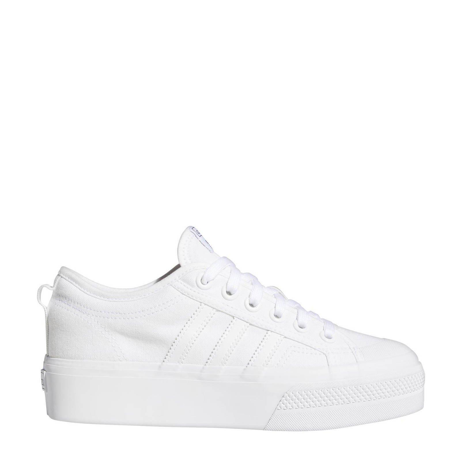 Adidas Originals Nizza Platform Schoenen Cloud White / Cloud White / Cloud White online kopen