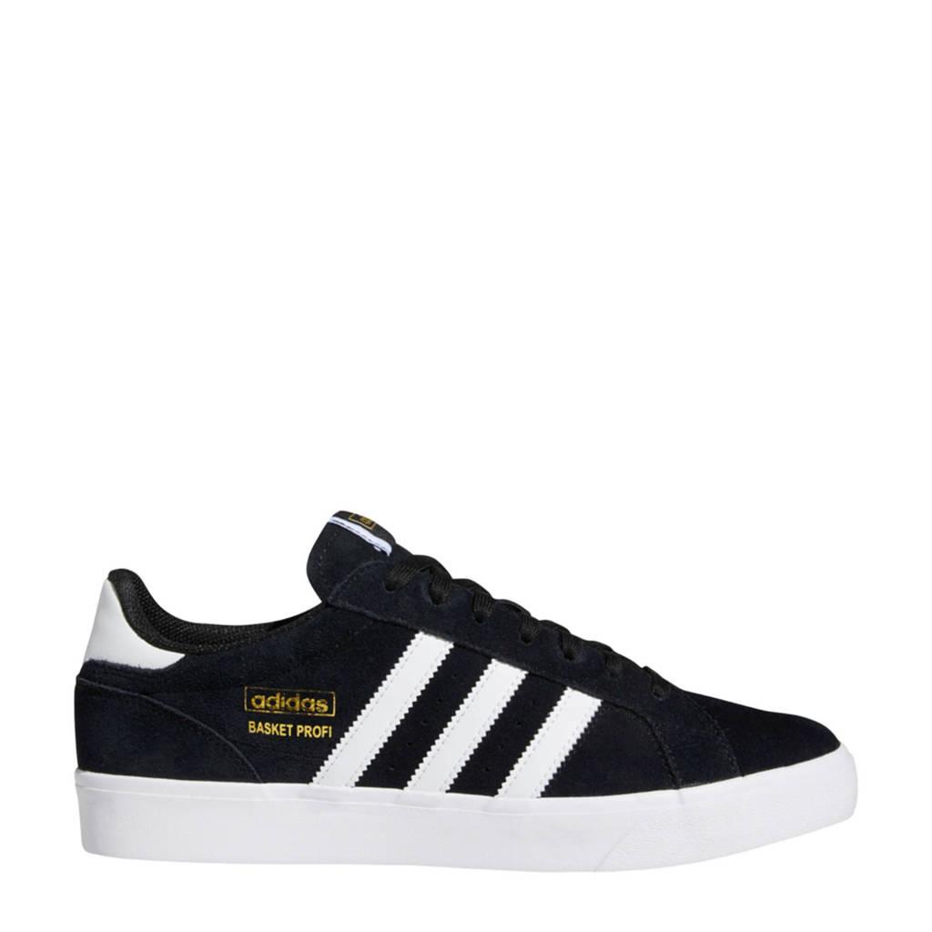 adidas Originals Basket Profi Lo sneakers zwart/wit, Zwart/wit