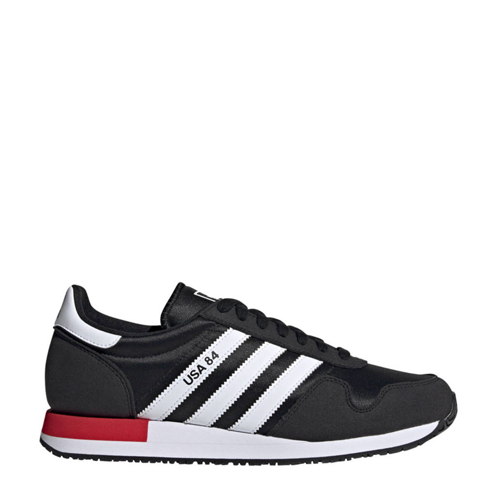 adidas Originals Usa 84 Terrace Classic Running Terrace Classic Running sneakers zwart/wit/rood, Zwart/wit/rood