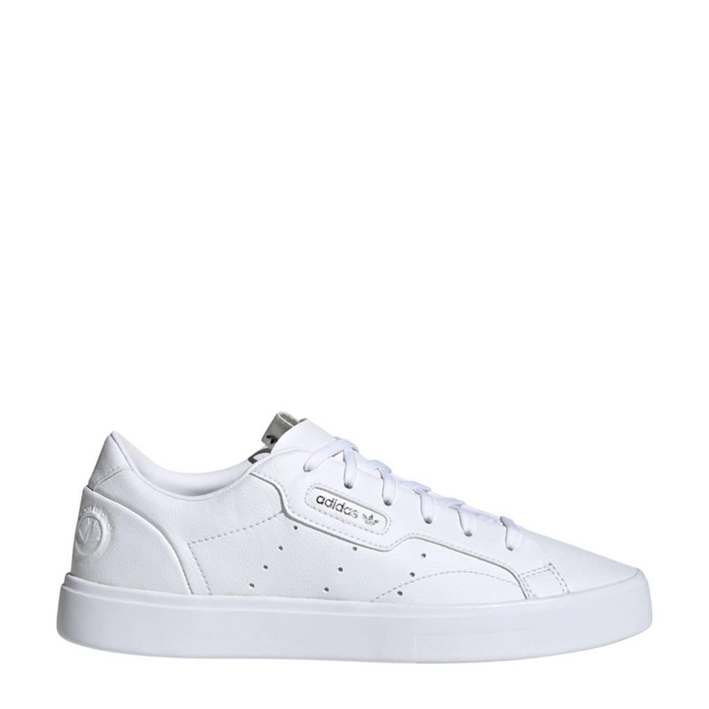 adidas Originals Sleek Vegan sneakers wit/groen, Wit/groen