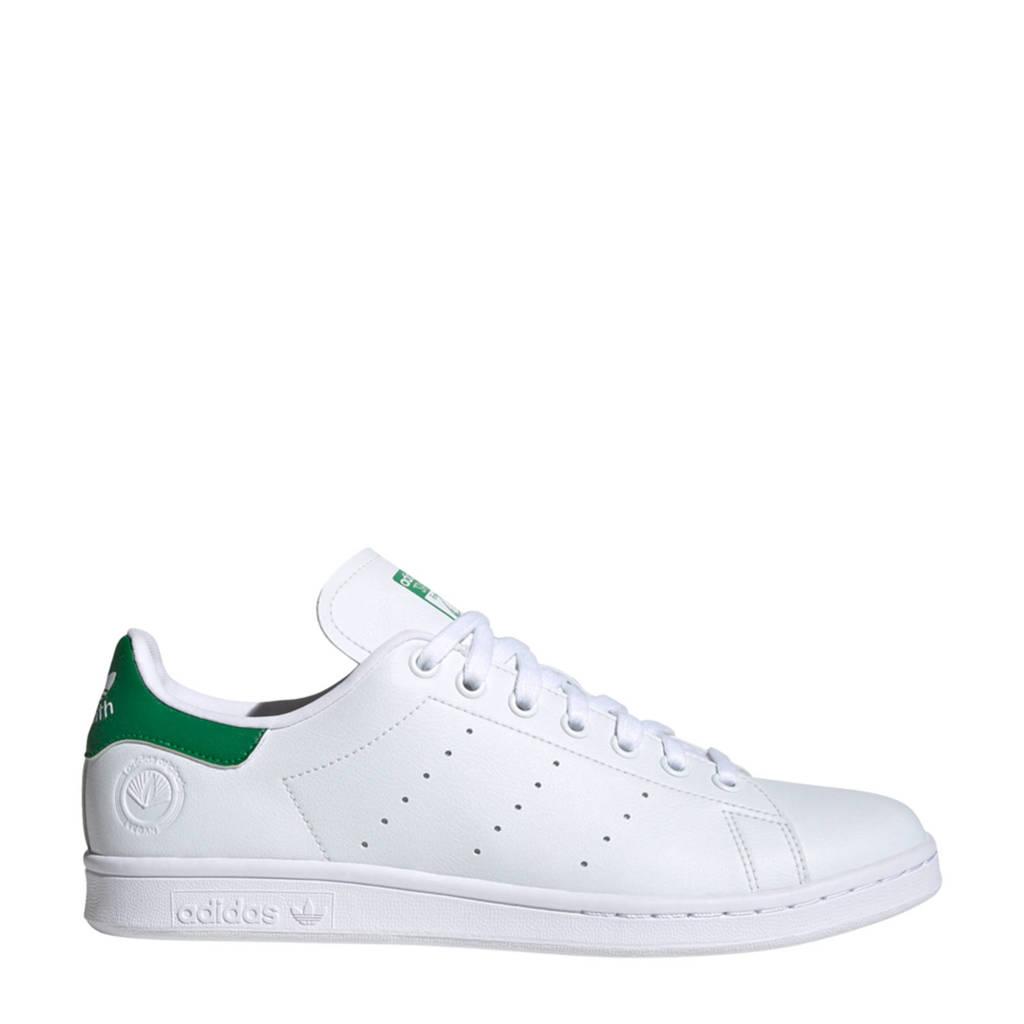 adidas Originals Stan Smith Vegan sneakers wit/groen, Wit/groen