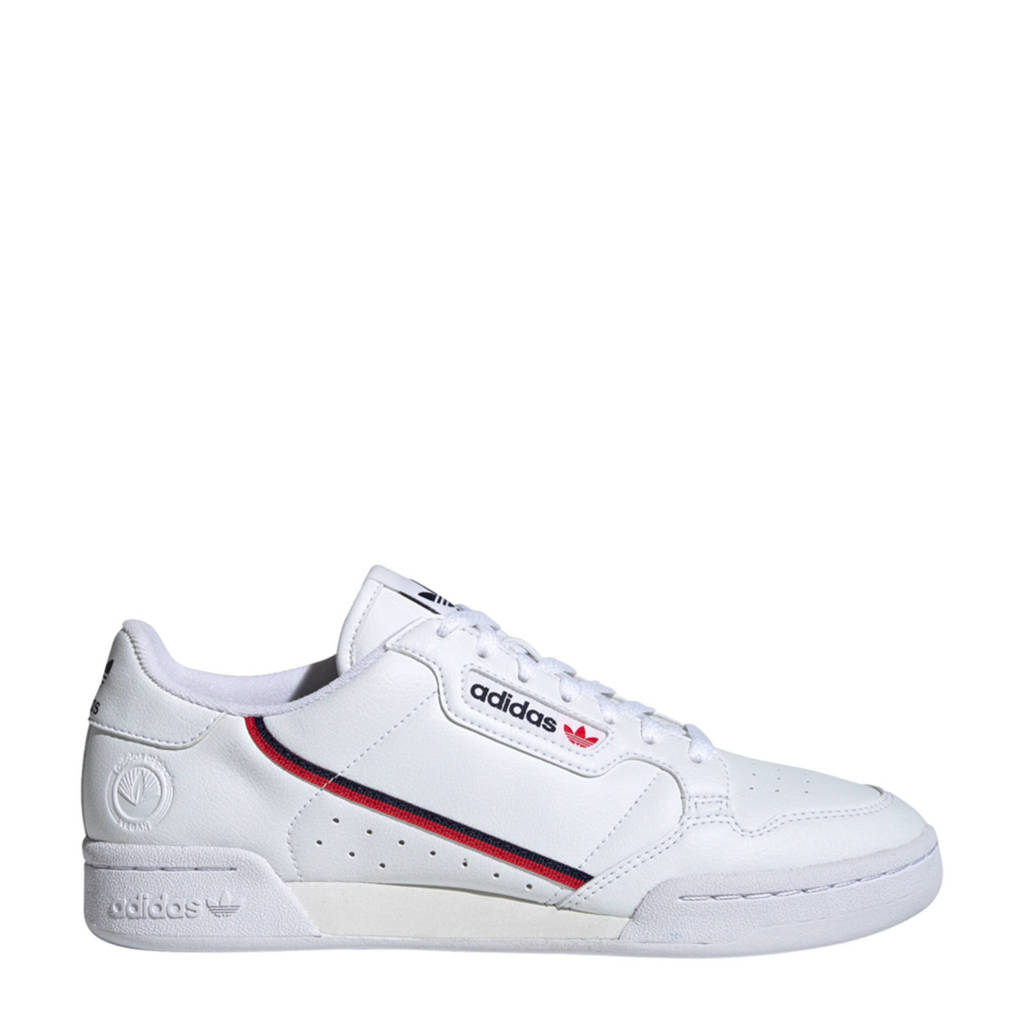 adidas Originals Continental 80 Vegan  sneakers wit, Wit