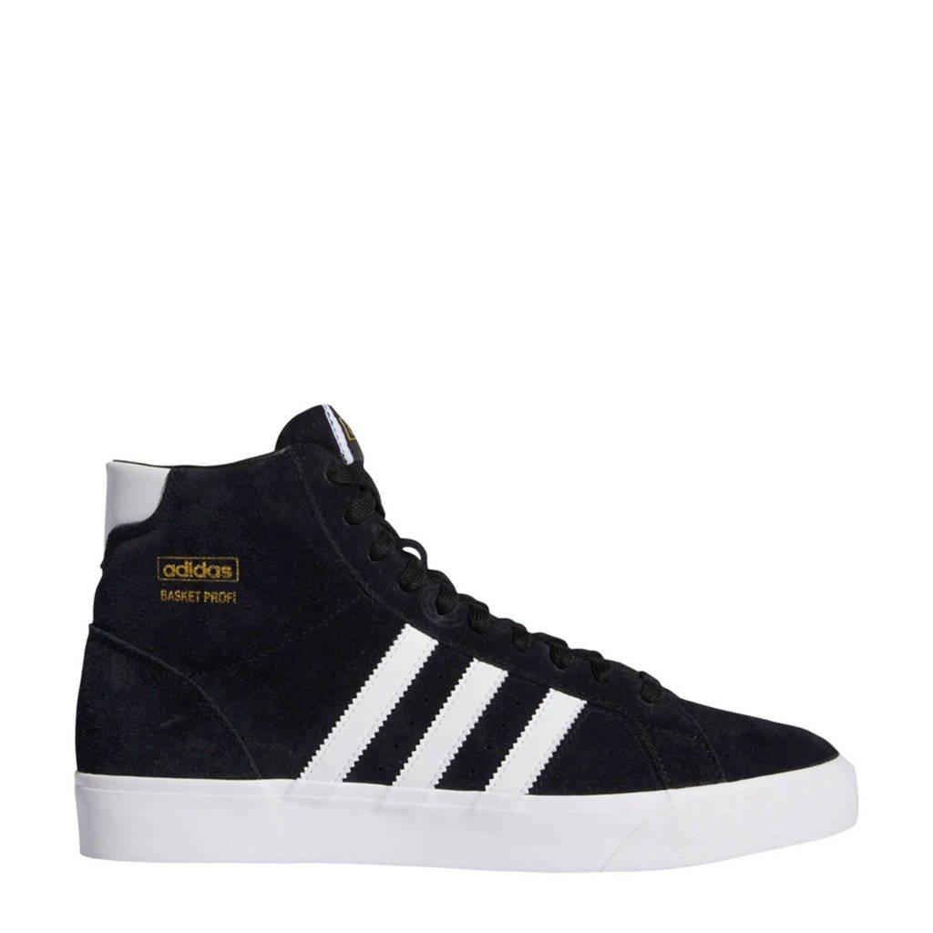 adidas Originals Basket Profi High sneakers zwart/wit, Zwart/wit