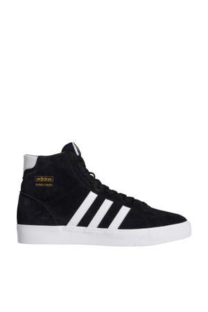 Basket Profi  suede sneakers zwart/wit