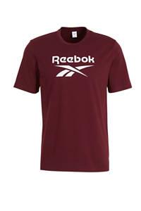 Reebok Classics T-shirt bordeauxrood, Bordeauxrood
