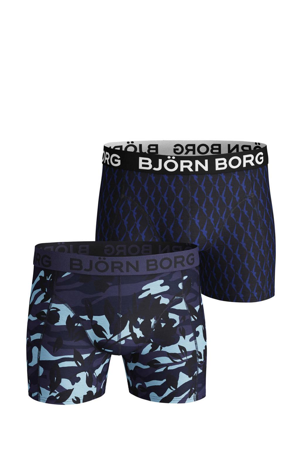 Björn Borg boxershort (set van 2), Donkerblauw