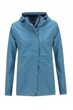 outdoor jas Buxton lichtblauw