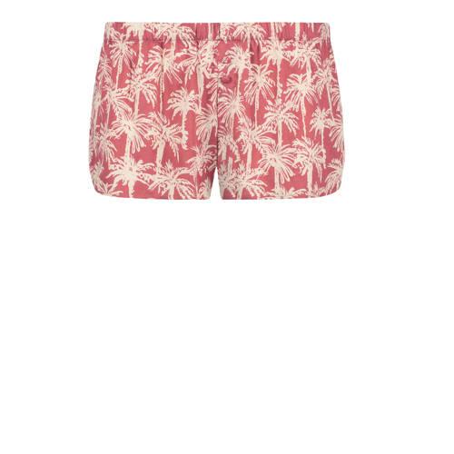 Hunkem??ller pyjamashort met all over print roze