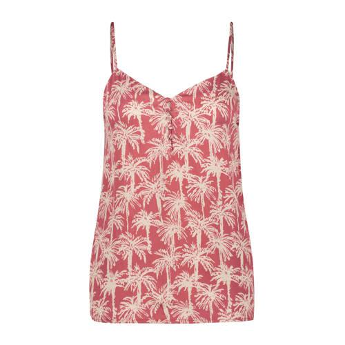 Hunkem??ller pyjamatop met all over print roze