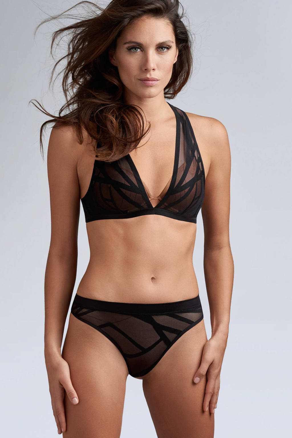 marlies dekkers Style string The Illusionist zwart, Zwart