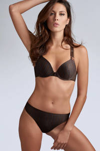 marlies dekkers Style push-up bh Gloria zwart/bruin, Zwart/bruin