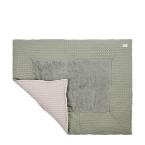 Amsterdam boxkleed Shadow Green/Misty Grey