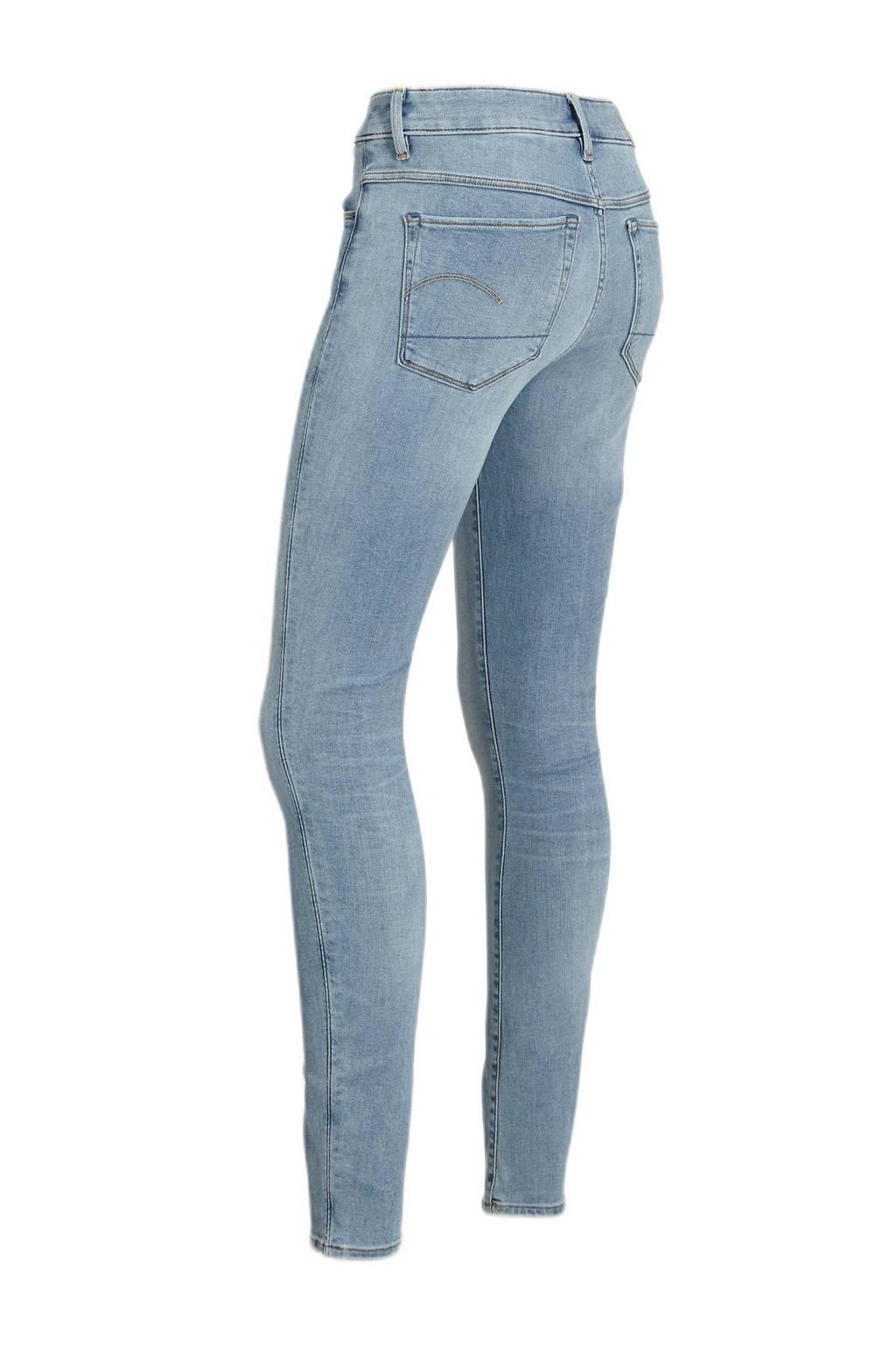 G-Star RAW 3301 high waist skinny jeans indigo aged, Indigo aged