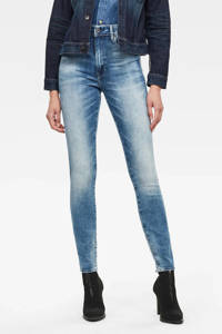 G-Star RAW high waist skinny jeans Kafey B471/sun faded azurite