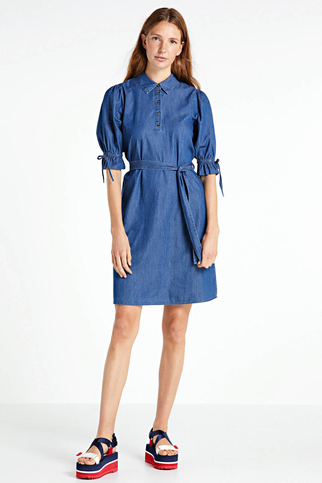OBJECT jurk blauw, Blauw
