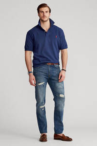 POLO Ralph Lauren Big & Tall +size regular fit polo donkerblauw, Donkerblauw