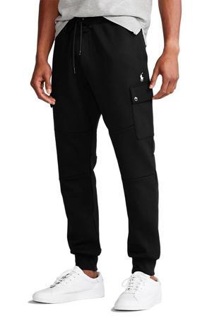 +size regular fit joggingbroek zwart