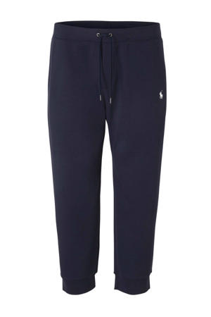 +size sweatpants donkerblauw