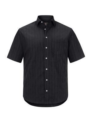 loose fit overhemd Plus Size Jorma zwart