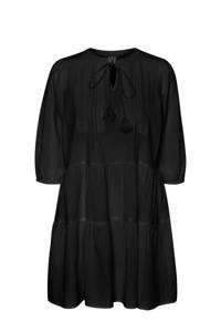 VERO MODA jurk van biologisch katoen zwart, Zwart